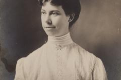 """1907, """"Elinor Bonney, est 1907, Lorain, O"""", [back shows it is a postcard]"""
