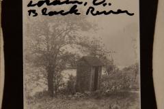 "1910, ""Bonney hill, 1910, Lorain, O..Black River"" [back shows it is a postcard]"