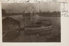 Not-So-Bad docked at Bonney's Lorain Ohio